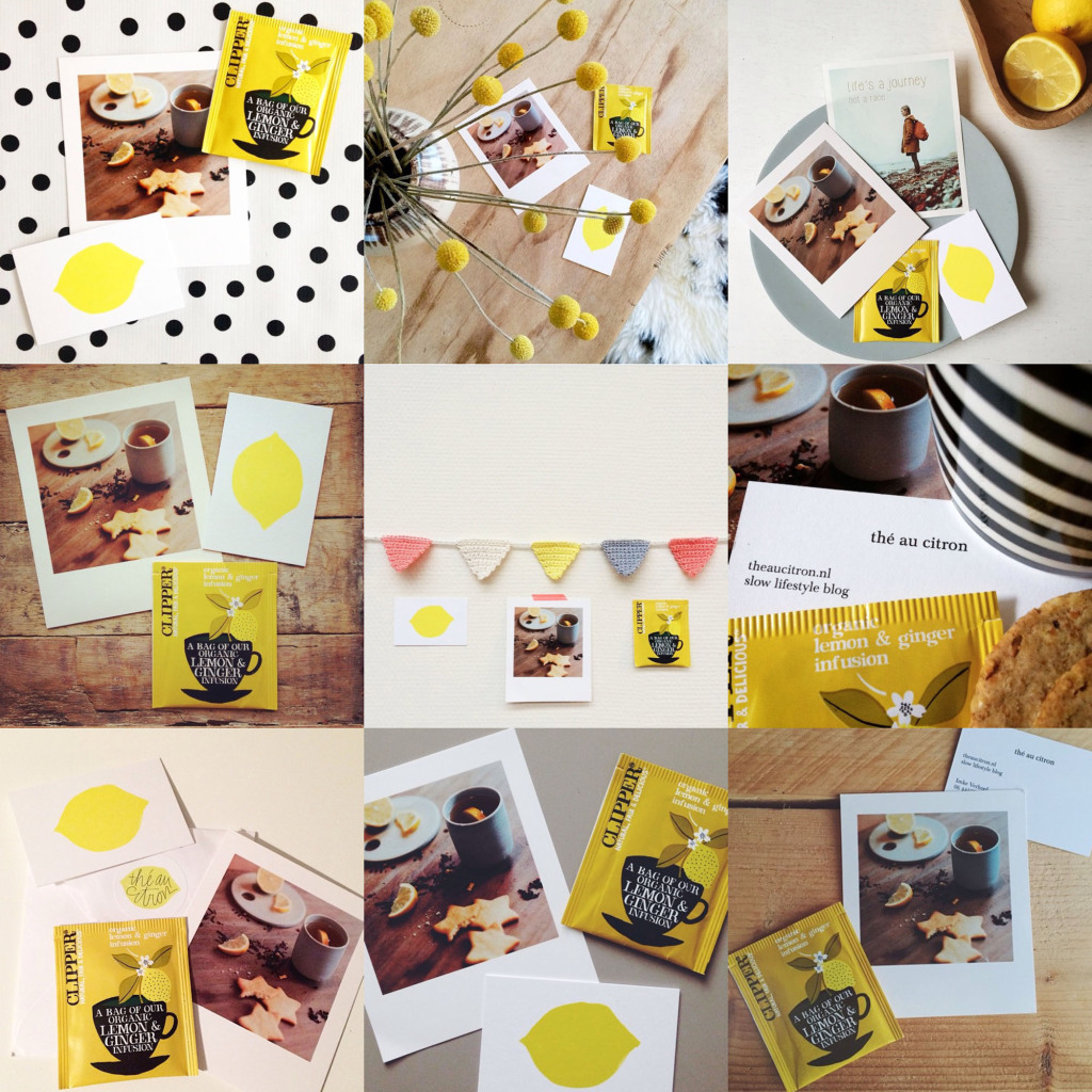 instagram kerstkaart the au citron