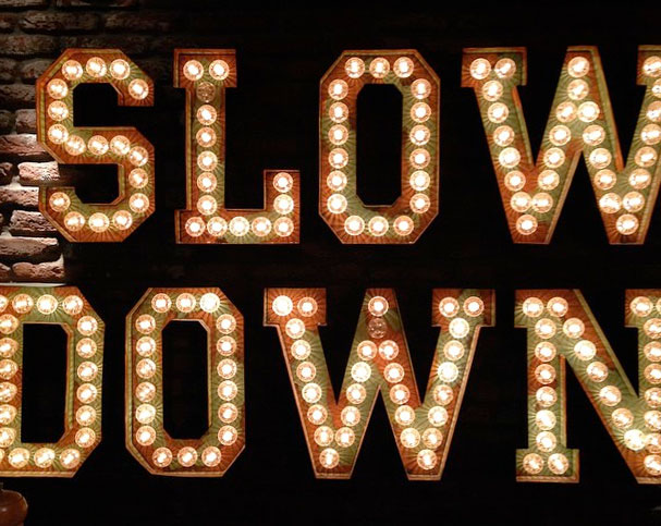 slow down stan&co