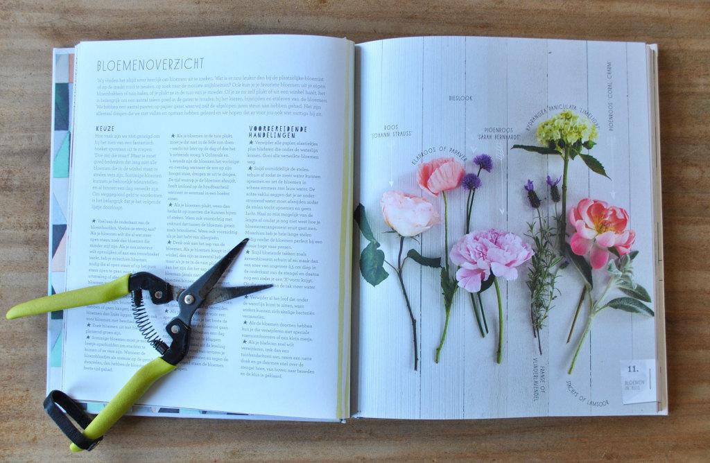Boek Bloemen in huis Bloemenoverzicht