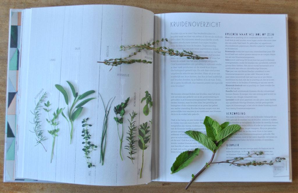 Boek Bloemen in huis Kruidenoverzicht