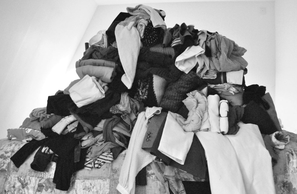 Opruimen met KonMari, kleding