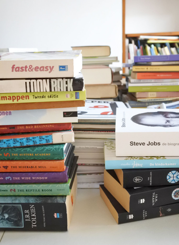 Opruimen met KonMari: boeken