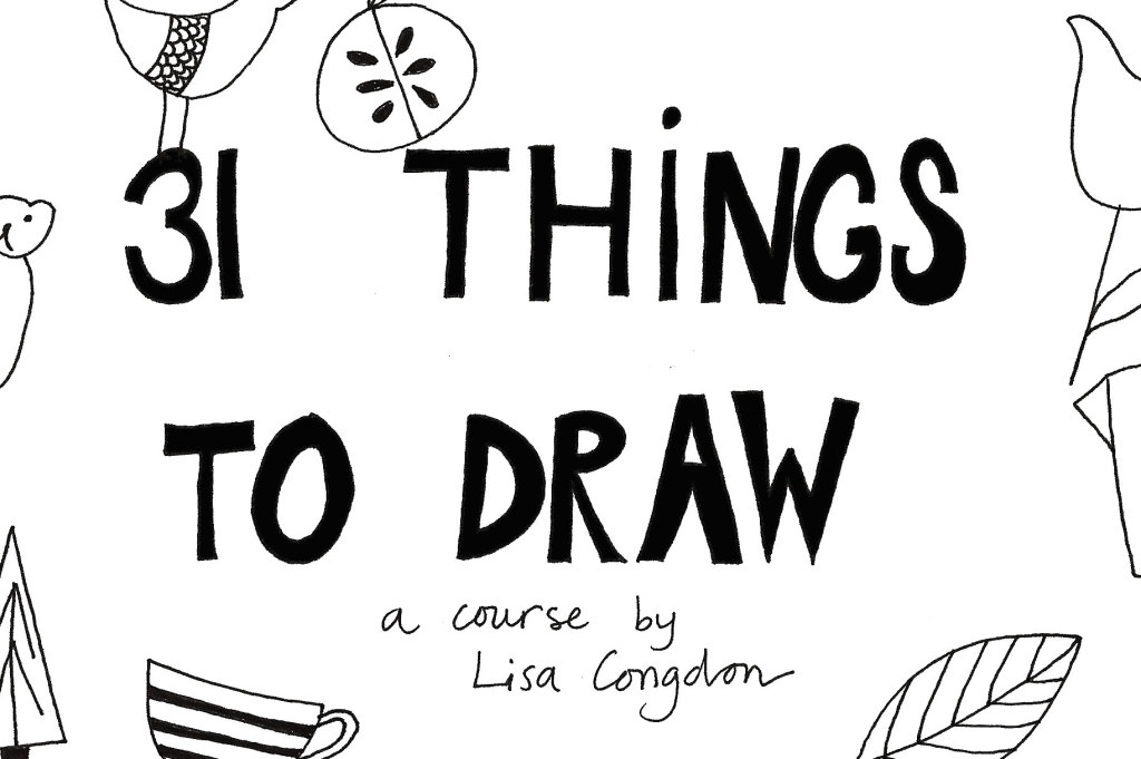 31 things to draw