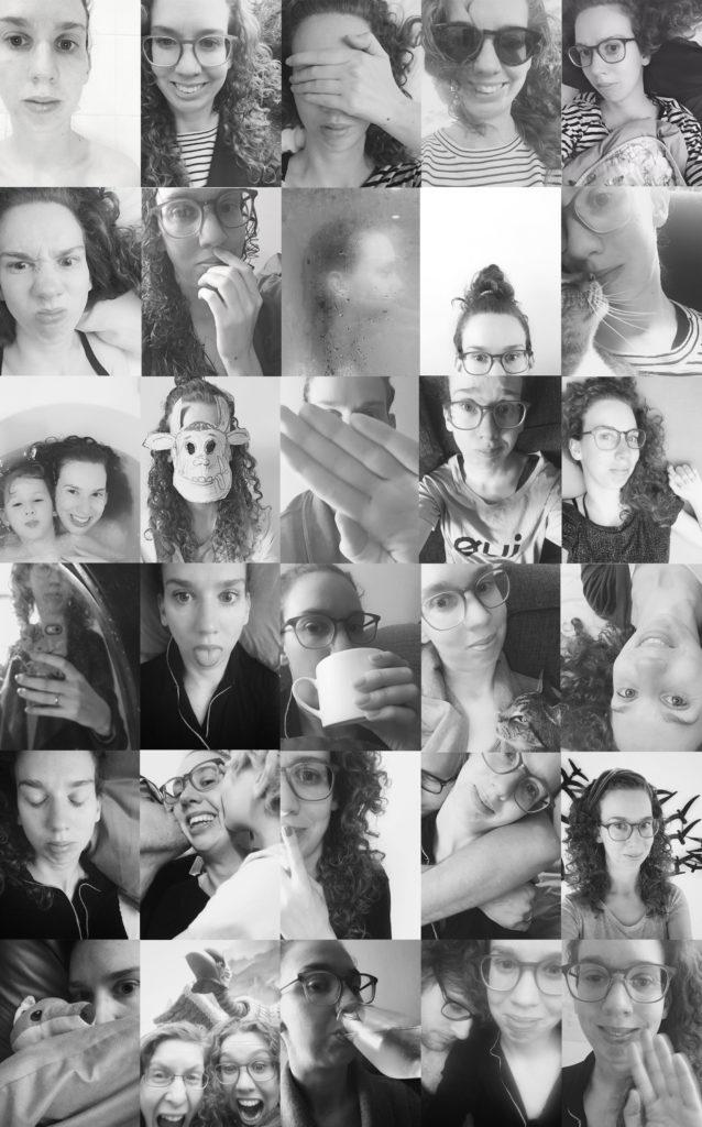 30 dagen selfies zonder context