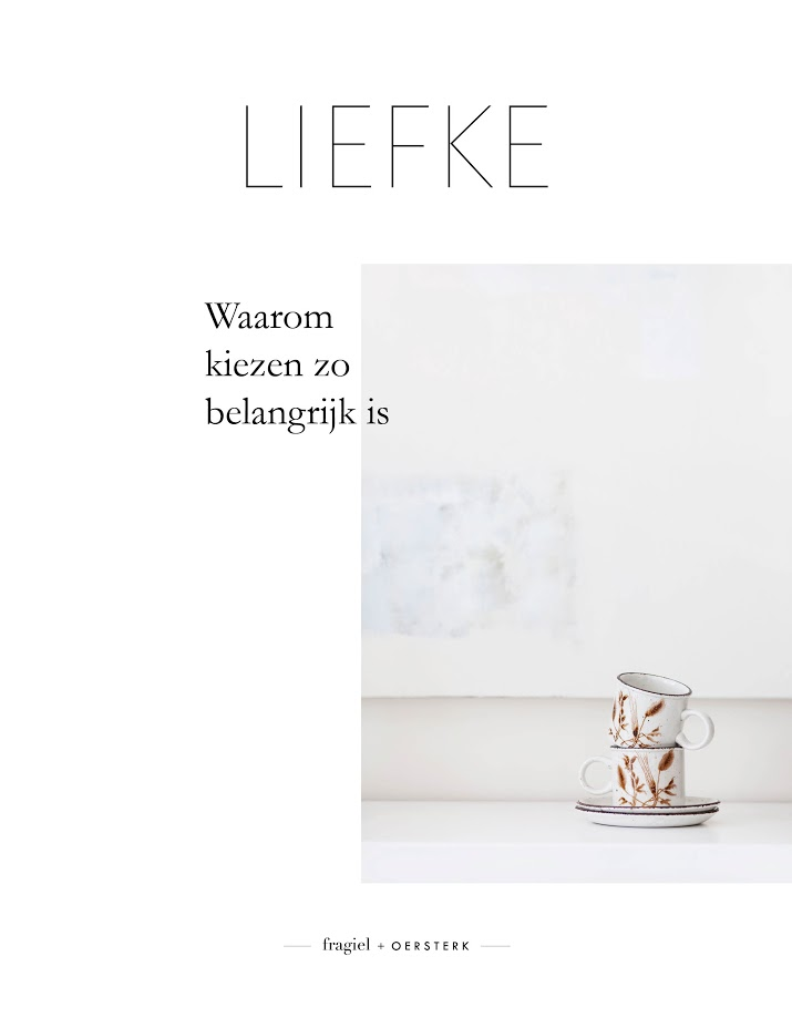 LIEFKE magazine editie 1 cover